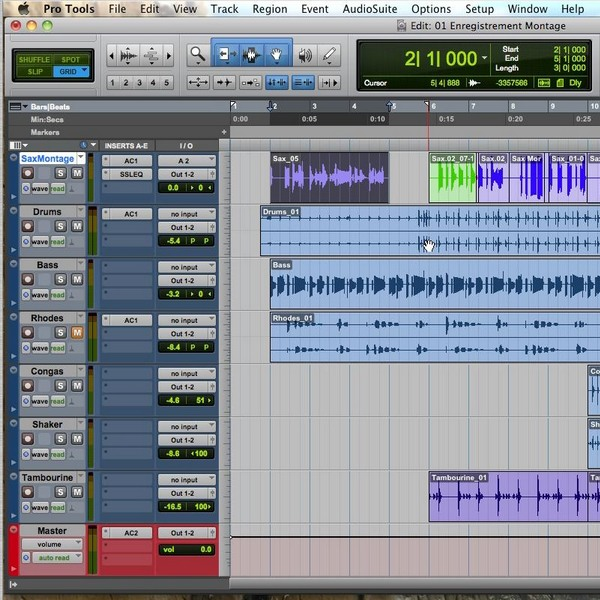 Formations PRO TOOLS